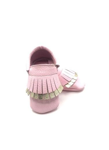 Moots Moots Bebek Mavisi Püsküllü Ayakkabı Pembe